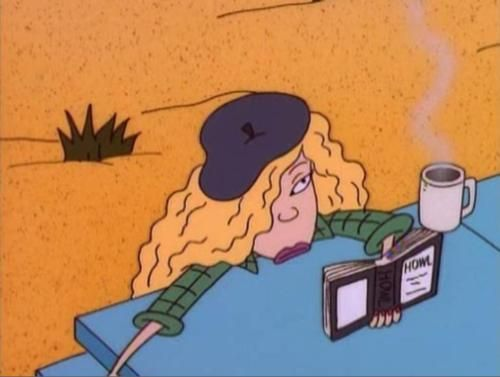 The Wild Thornberrys -- Debbie w/ Howl, coffee & Parisiany hat