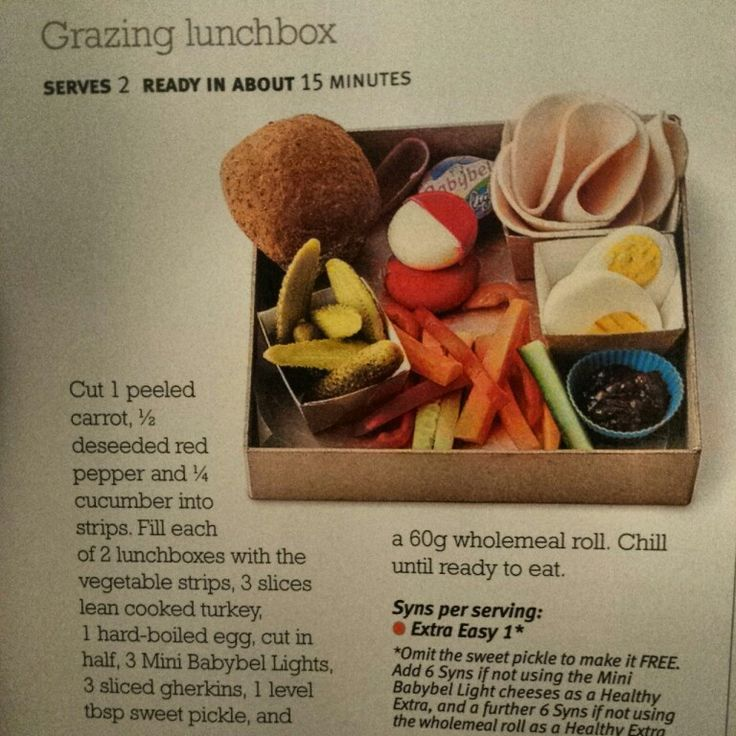 Slimming world grazing box