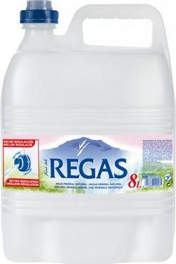 Agua Font del Regás 8 l.