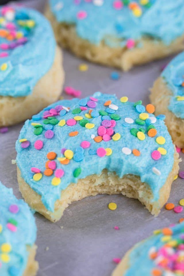 Lofthouse Cookies Sour Cream Sugar Cookies Crazy For Crust Recipe Sour Cream Sugar Cookies Lofthouse Cookie Recipe Cookie Recipes