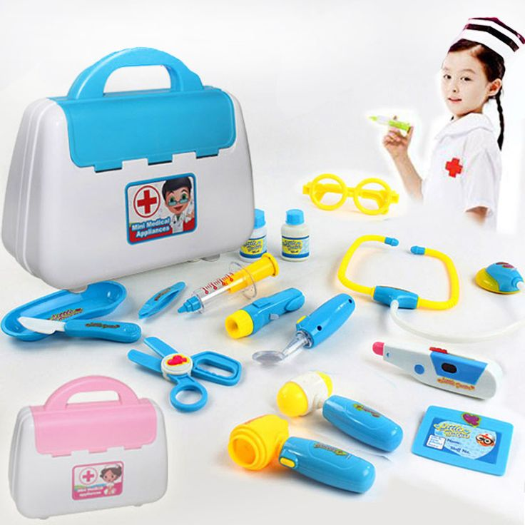 ==> [Free Shipping] Buy Best Doctor Toys Children Similate pretend toys doctor game Kids Play House toys Doctor Set Medicine Box doctora juguetes toy girl Online with LOWEST Price | 32721723627