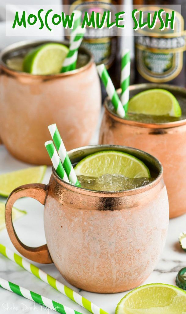Moscow Mule Slush Recipe Moscow Mule Recipe Frozen Moscow