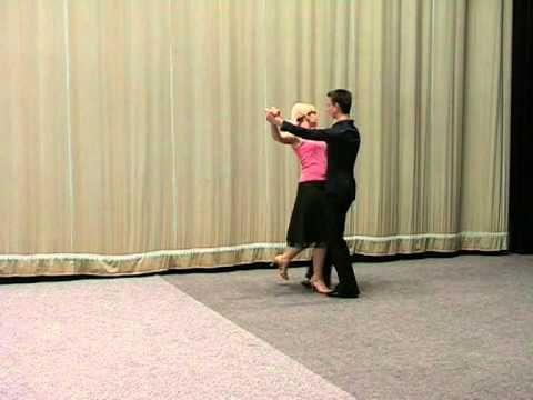 Základní taneční - Slowfox.mpg - YouTube