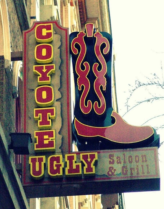 Coyote Ugly - been to the one in Nashville, Memphis and New Orleans.....Memphis was the BEST!