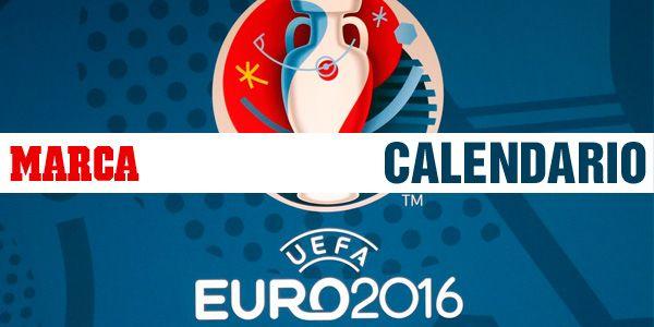 Calendario de la Eurocopa 2016.