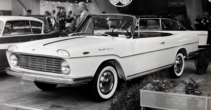 Fiat 1800 Cabriolet (Monterosa), 1959