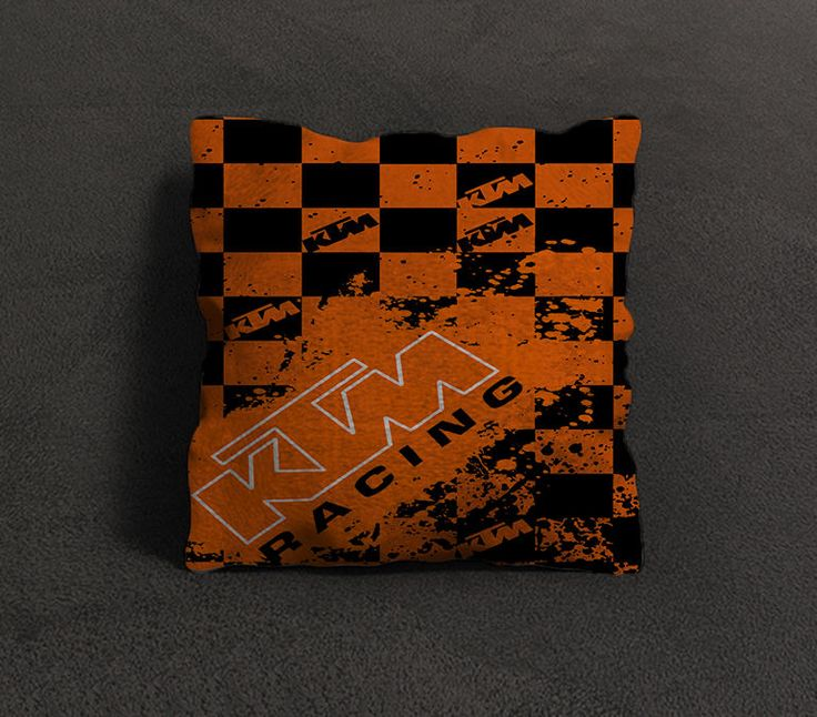 """New Rare KTM Racing Stripe Orange Custom Pillow Case 18""""x18"""" Limited Design #Unbranded #pillowcase #pillowcover #cushioncase #cushioncover #best #new #trending #rare #hot #cheap #bestselling #bestquality #home #decor #bed #bedding #polyester #fashion #style #elegant #awesome #luxury  #ktm #racing"""