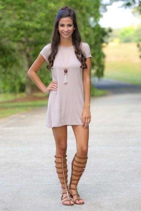 Sandalias para vestidos casuales