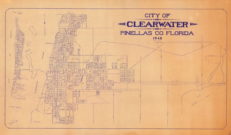 Clearwater Fl Map Edi Maps Full Hd Maps