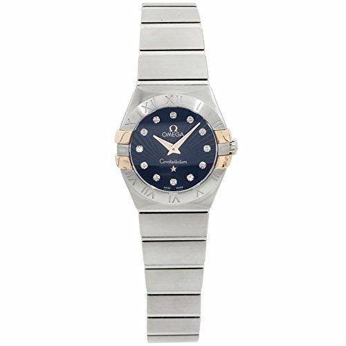 Omega Constellation quartz womens Watch 123.20.24.60.53.002 (Certified Pre-owned...