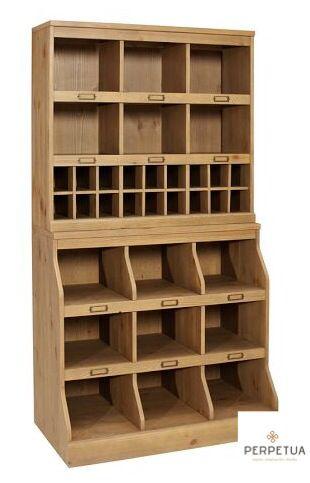 ®Perpetua Muebles #Organizador #librero #vitrina #cajonera #perpetua #madera  #
