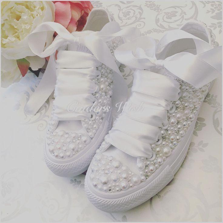 Bride sneakers, Wedding sneakers
