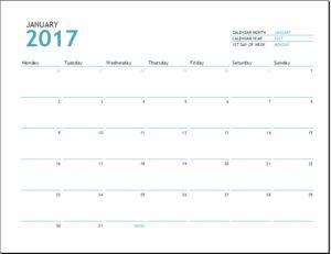 Academic Calendar Template 2016 2017 DOWNLOAD at http://www.templateinn.com/academic-calendar-templates-2016-2017/