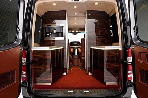 Mercedes Benz Sprinter. SP5 Conference Custom Inspired by Air Force One (2)