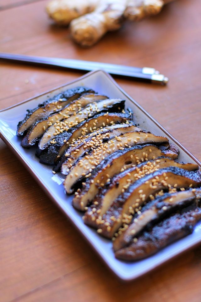 Grilled portobello mushrooms marinated in balsamic vinegar and fresh ginger make for a flavor-blasted meatless side dish or appetizer. Use these grilled portobellos to serve guests alongside your f...
