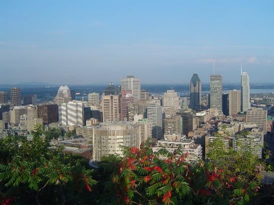 Don't miss this amazing view of the city at the Mont Royal summit. You can choose to hike, bike, drive or tale a bus to experience the view and the park that was designed by Frederick Law Oldmsted whose work includes NYC's Central Park.