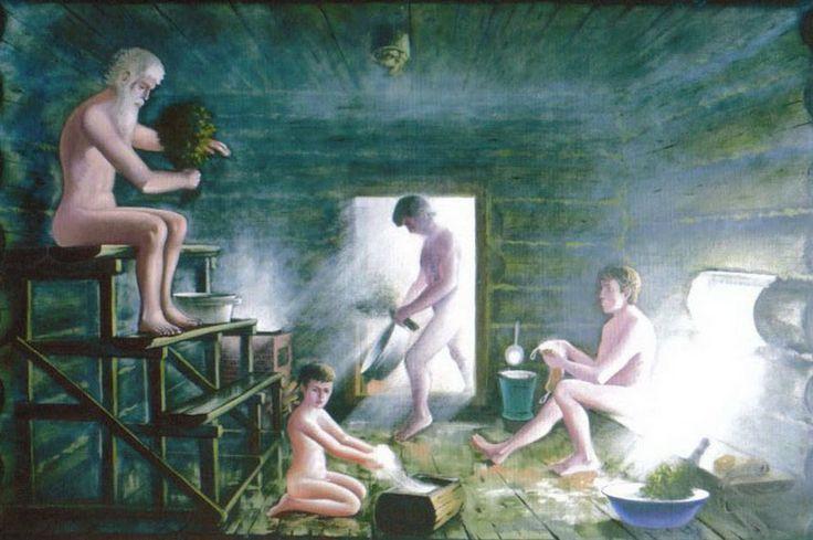 Смотреть как моются в женской бане кажется