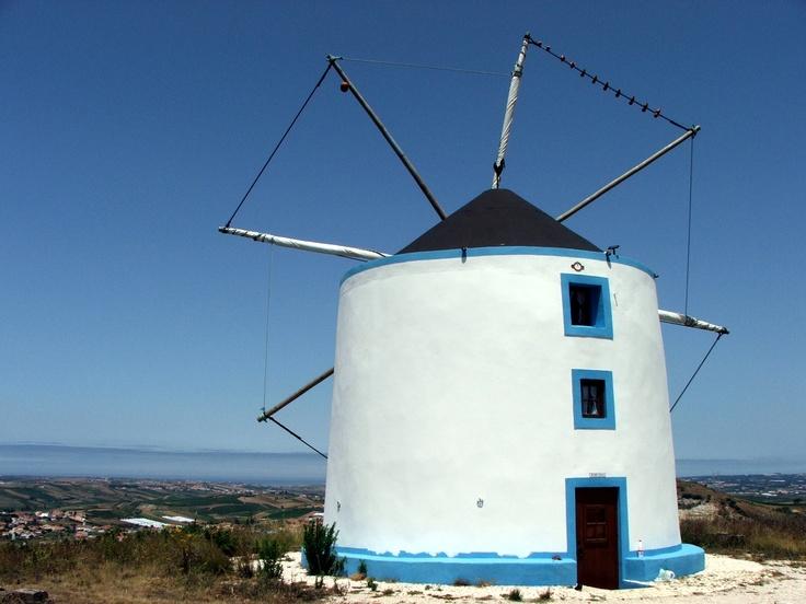 Moinho de vento, Freiria, Torres Vedras, Autor: Nelson Gaspar