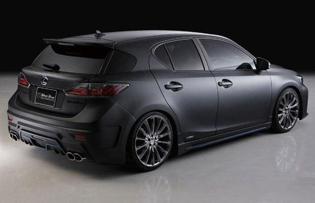Lexus CT 200h — Murdered-Out: 50 Menacing Matte Black Cars | Complex