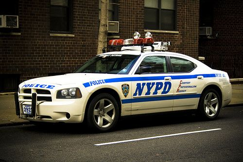 NYPD Dodge Charger Pursuit police vehicle