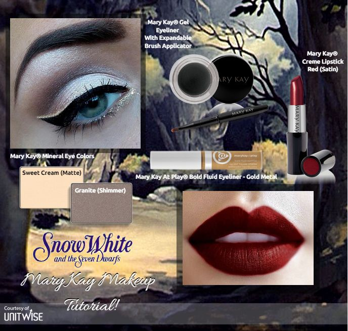 Here's the Snow White inspired look! #MaryKay #Disney   www.marykay.com/lindsey.danger