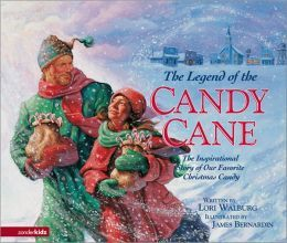 candy cane. The Legend of the Candy Cane: The Inspirational Story of Our Favorite Christmas Candy