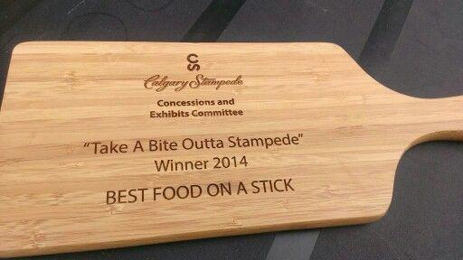 Best food on a stick @stampedefood