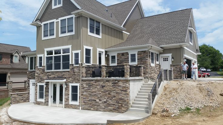 Bucks County Country Ledgestone By Boral Cultured Stone Exterior Stone Vene