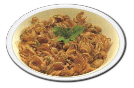 Moscardini aglio e prezzemolo