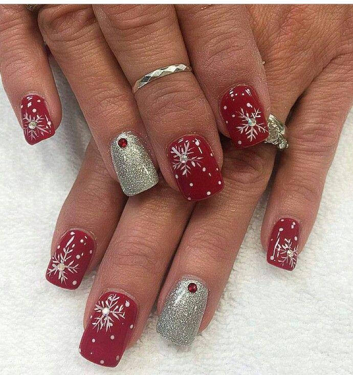 Épinglé sur Nail Art Noël