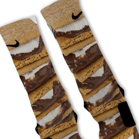Smores Custom Nike Elite Socks
