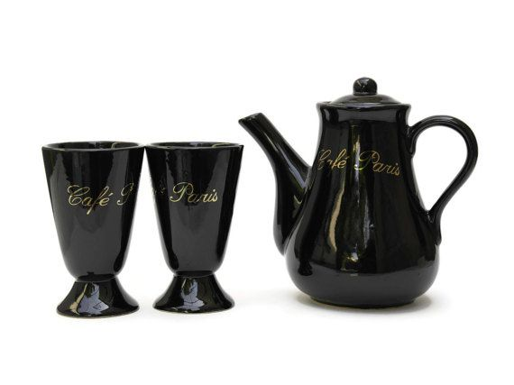 Hey, I found this really awesome Etsy listing at https://www.etsy.com/listing/249623508/15-off-french-coffee-set-paris-cafe-gold