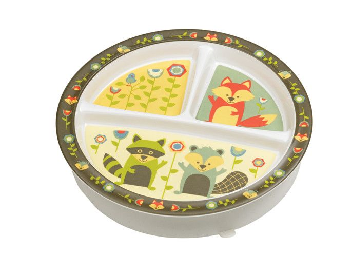 What Did the Fox Eat?® Divided Suction Plate