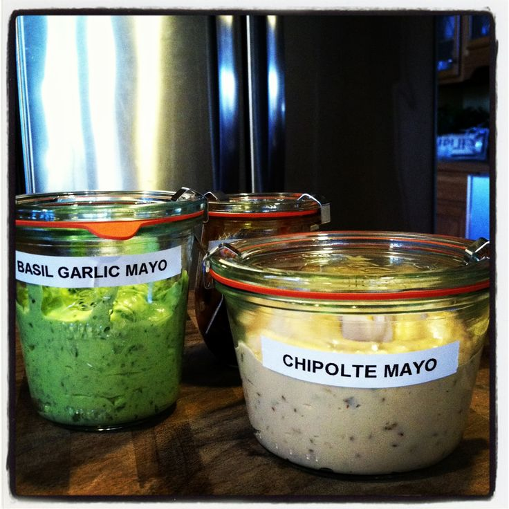 Flavored mayo