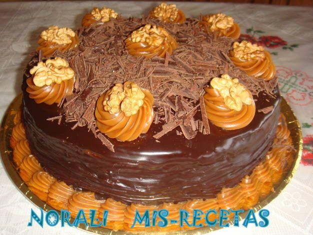 Baños o rellenos para torta de chocolate