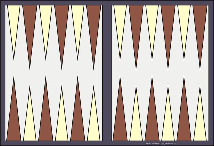Gargantuan image intended for printable backgammon board
