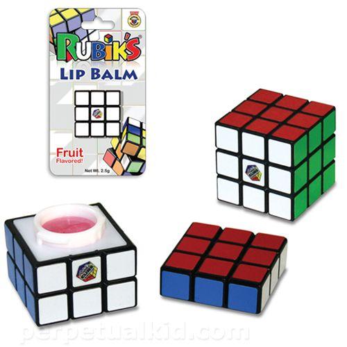 Bálsamo para labios de Cubo Rubik   La Guarida Geek