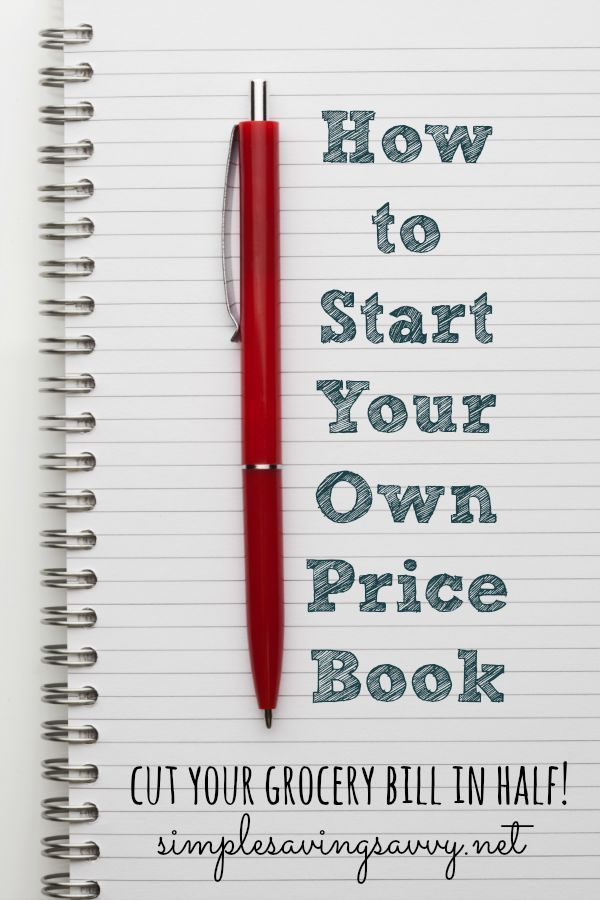 Keeping a price book can be a powerful tool for a savvy shopper.  A price book is simply a record that can be quickly accessed that shows where and when you can purchase a commonly bought item at the lowest price. It is not a complicated process to create