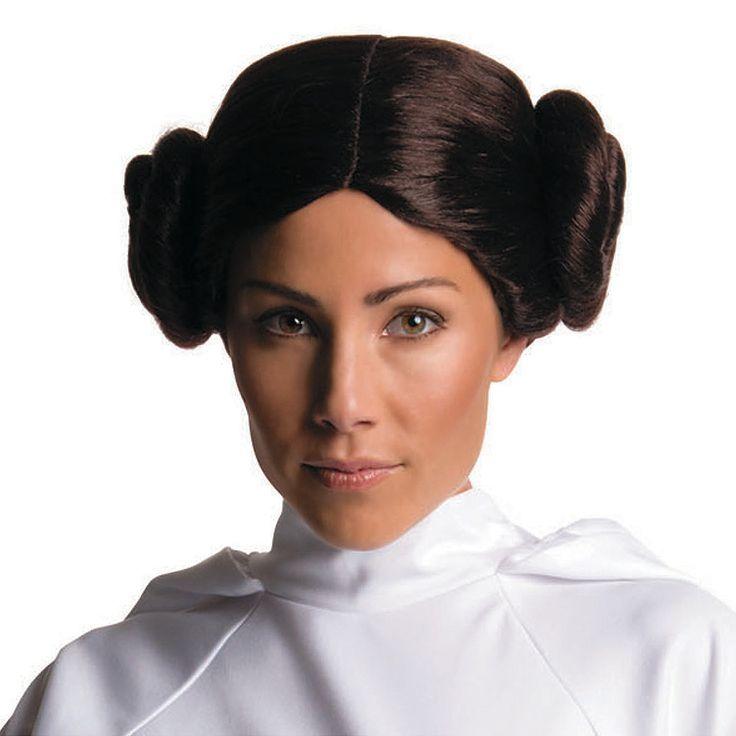 Women's+Secret+Wishes+Star+Wars™+Princess+Leia+Wig+-+OrientalTrading.com