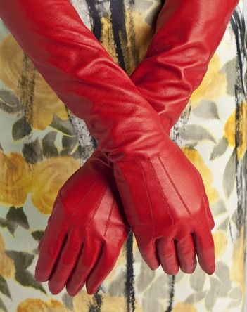LANVIN GLOVES | Lanvin's Long glove in lambskin | accessories | Pinterest