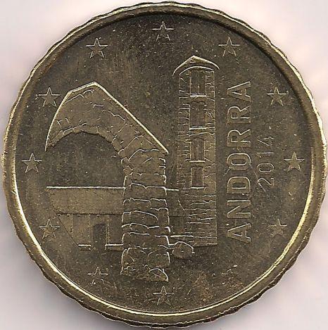 Motivseite: Münze-Europa-Südeuropa-Andorra-Euro-0.10-2014