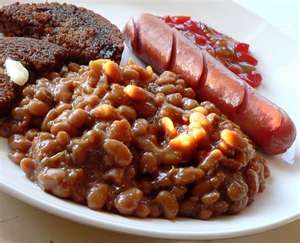 New England Baked Bean Supper Baked Beans And Brown Bread In A Can
