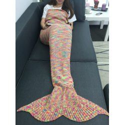 SHARE & Get it FREE | Warmth Acrylic Knitting Colorful Mermaid Tail Design BlanketFor Fashion Lovers only:80,000+ Items • FREE SHIPPING Join Twinkledeals: Get YOUR $50 NOW!