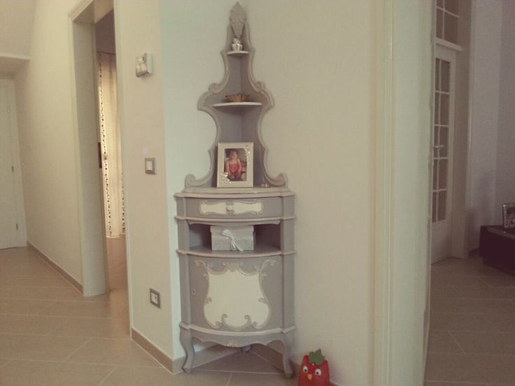 in casa di una nostra cliente l'angoliera shabby by macelleria d'arte