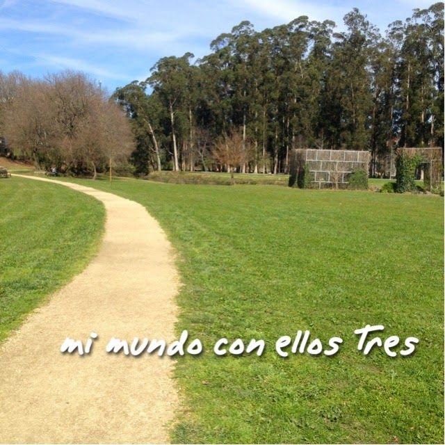 Mi Mundo con ellos Tres: Un sitio molon en Pontevedra para pasear en famili...