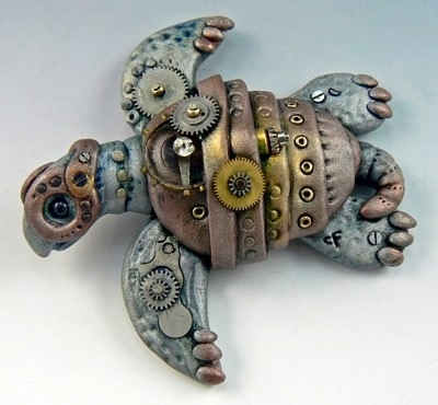 Steampunk Sea Turtle