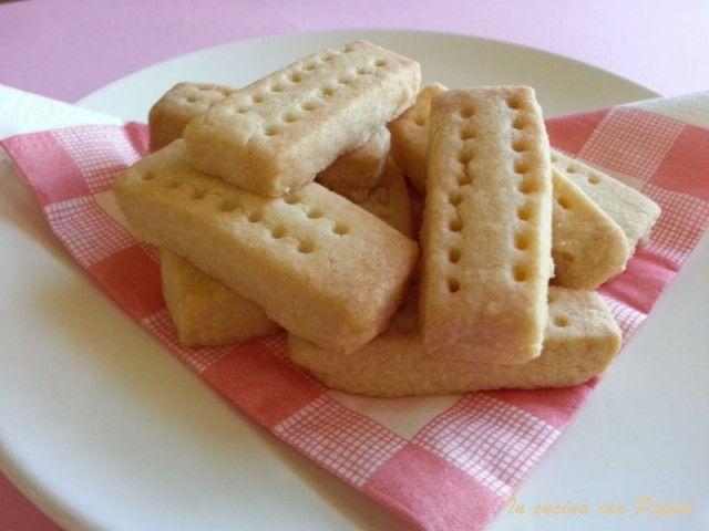 Shortbread (biscotti scozzesi) con bimby - In cucina con Peppa