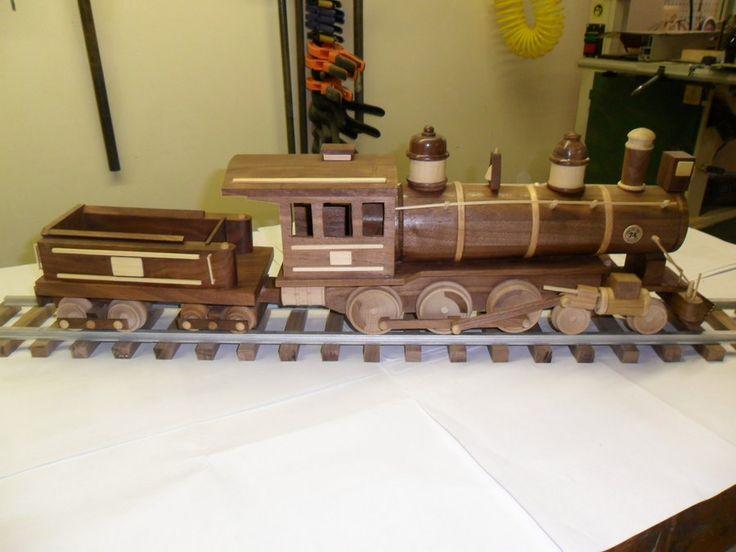Train - by LarryN @ LumberJocks.com ~ woodworking community