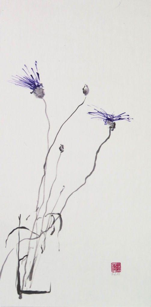 """Лилит Оган суми-е, карандашные рисунки Блог: Модерация """"Дао Дэ Цзин"""" стих 9 для художников"""