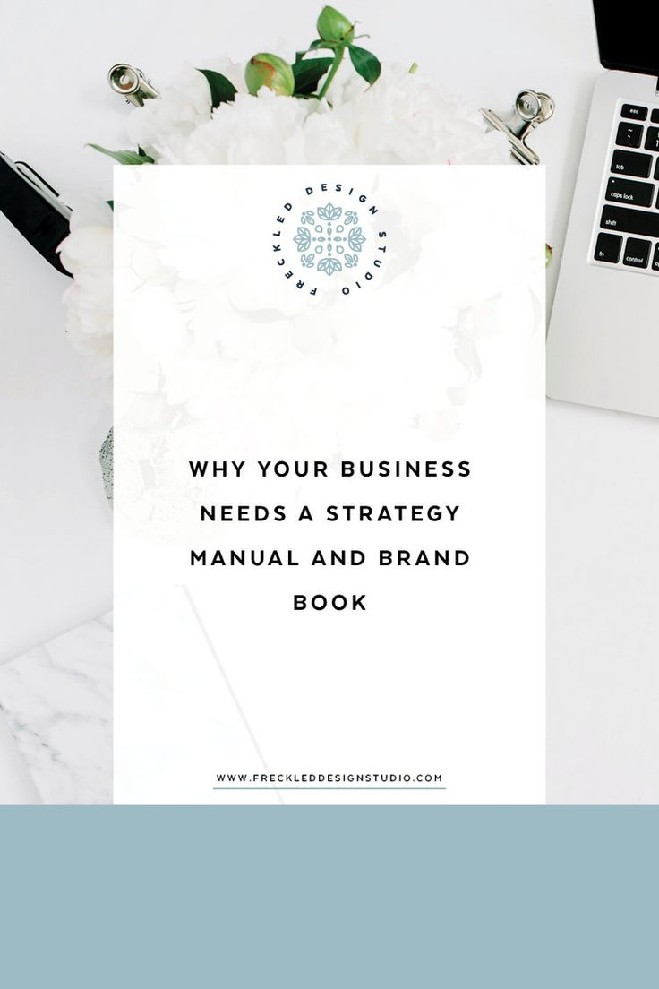 Want to find out why you need a strategy manual and brand book? Click through to read what they're all about.